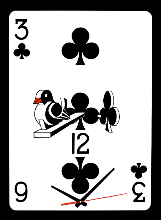 Clipped Wing - 3 of clubs