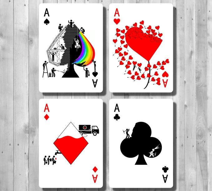 Pipmen Ace Tranformation Cards